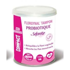 Saforelle Florgynal Tampon Probiotique Normal X 9 Tampons