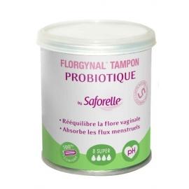 Saforelle Florgynal Tampon Probiotique Super x 8 Tampons