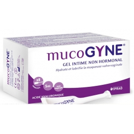 Mucogyne Gel Intime Non Hormonal 8 Unidoses 5 ml