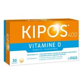 Kipos 400 Vitamine D 30 Capsules