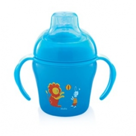 Dodie Tasse D'apprentissage Bleue 200 ml