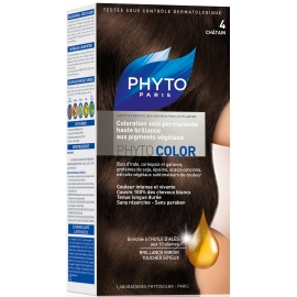 Phyto PhytoColor coloration permanente 4 chatain