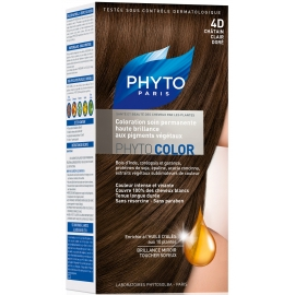 Phyto PhytoColor coloration permanente 4D Chatain Clair Doré