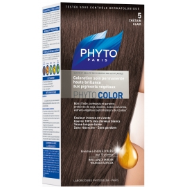 Phyto PhytoColor coloration permanente 5 Chatain clair