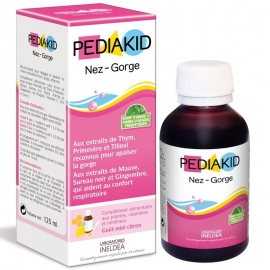 Pediakid Nez-Gorge Sirop 125 ml