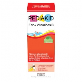 Pediakid Fer + Vitamines B 125 ml