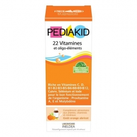 Pediakid 22 Vitamies & Oligo-éléments 125 ml