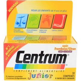Centrum Junior 30 comprimés
