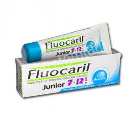 FLUOCARIL DENTFRICE JUNIOR 7/12 ANS GOUT BUBBLE 50 ml
