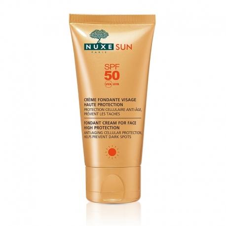 Nuxe Sun crème fondante visage spf 50 50 ML