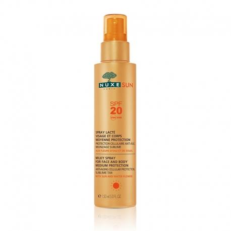 Nuxe Sun Spray Lacté Visage et Corps SPF 20 - 150 ml