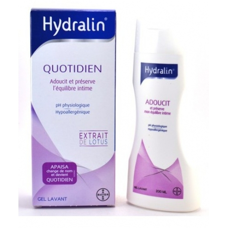Hydralin Quotidien (Apaisa)  Gel Lavant 200 ml