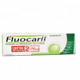 FLUOCARIL COMPLET DENTIFRICE 2 X 75ML