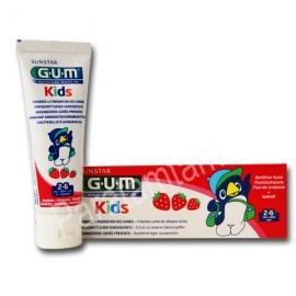 GUM KIDS DENTIFRICE 2 - 6 ANS GOUT FRAISE 50 ML