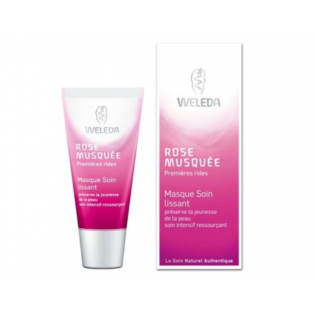 Weleda Rose Musquée Masque Soin Lissant 30 ml