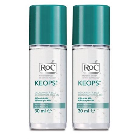 Roc Keops Deodorant à Bille Lot 2 X 30 ML