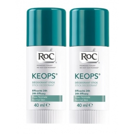 Roc Keops Deodorant Stick 2 x 40 ML