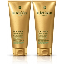 Furterer Solaire Gel douche nutritif cheveux et corps 200 ML x 2