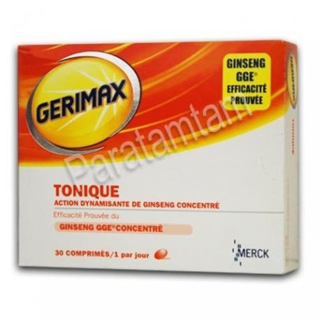 GERIMAX TONIQUE 30 COMPRIMES