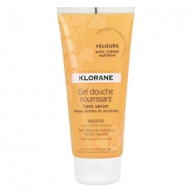 "Klorane Gel Douche Nourrissant ""Velours"" 200 ml"