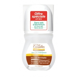 Rogé Cavailles Déo-soin Dermato Roll-on 2 X 50 ml