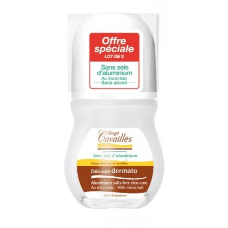 Rogé Cavailles Déo-soin Dermato Roll-on 2 X 50 ml