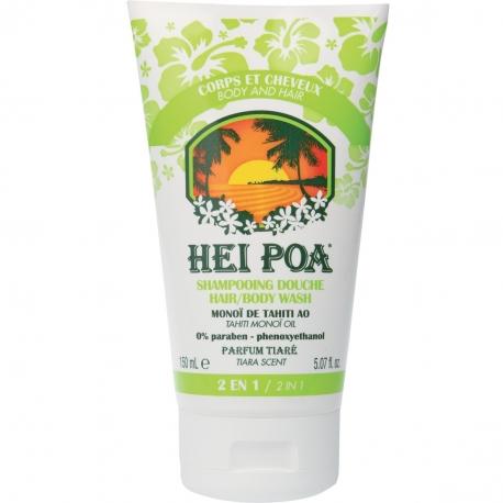 Hei Poa Shampooing Douche au Monoï de Tahiti AO 150 ML
