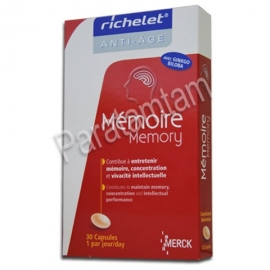 RICHELET ANTI AGE MEMOIRE 30 COMPRIMES