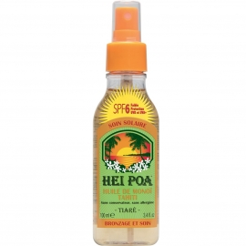 Hei Poa Huile de Monoï Spf 6 - Tiaré 100 ml