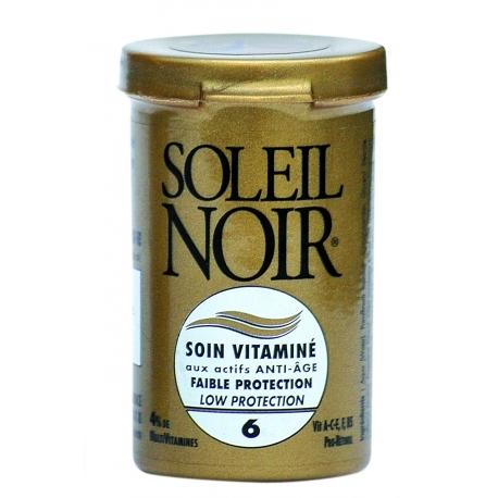Soleil Noir Soin Vitaminé Indice 6 - 20 ml