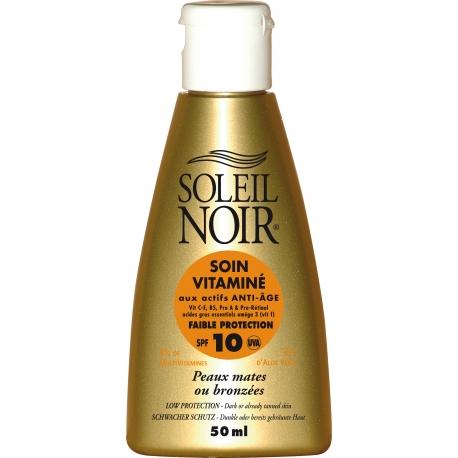 Soleil Noir Soin Vitamine Spf 10 - 50 ml