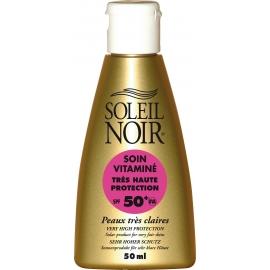 Soleil Noir Soin Vitamine Spf 50+ 50 ml