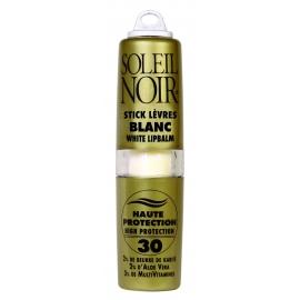 Soleil Noir Stick Lèvres SPF 30 Blanc 4 g