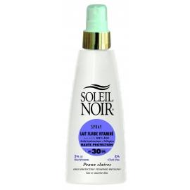 Soleil Noir Lait Fluide Vitamine Spf 30 Spray 150 ml