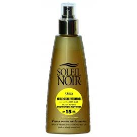 Soleil Noir Huile Sèche Vitaminée Spf 15 Spray 150 ml