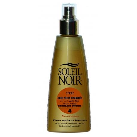 Soleil Noir Huile Sèche Vitaminée Spf 4 Spray 150 ml