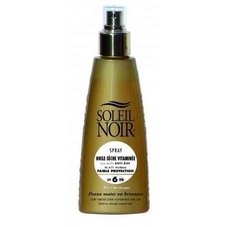 Soleil Noir Huile Sèche Vitaminée Spf 6 Spray 150 ml