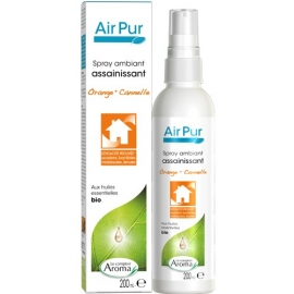 Le Comptoir Aroma Air Pur Spray Ambiant assainissant Bio Orange - Cannelle 200 ml