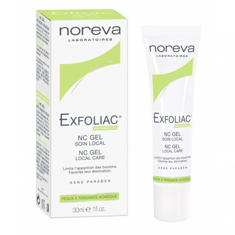 Noreva Exfoliac NC Gel Soin Local 30 ml