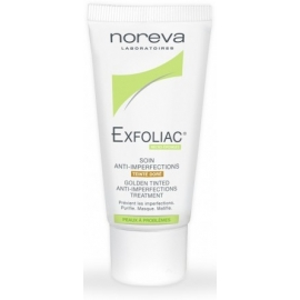 Noreva Exfoliac Soin anti-imperfections teinté doré 30 ML