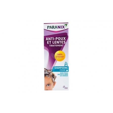 Paranix Traitement Anti-poux & lentes Shampoing 200 ml
