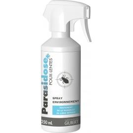 Parasidose Poux-lentes Spray Environnement 250 ML
