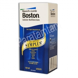 CHAUVIN BAUSCH&LOMB BOSTON SIMPLUS SOLUTION MULTIFONCTIONS  120 ML