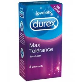 Durex Préservatif Max Tolérance Sans Latex x 8
