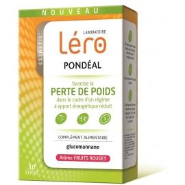 Lero Pondeal Perte de Poids Goût Fruits Rouges 30 Sticks