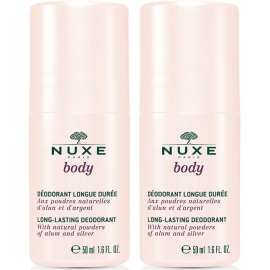 Nuxe Body Déodorant Longue Durée Roll-on 50 ml x2