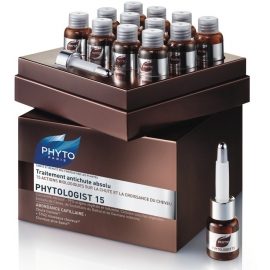 Phyto PHYTOLOGIST 15 Traitement antichute absolu 12 Fioles x 3,5 ML