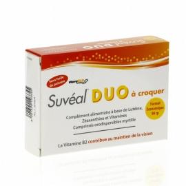 Suvéal Duo Vision A Croquer 90 Comprimés