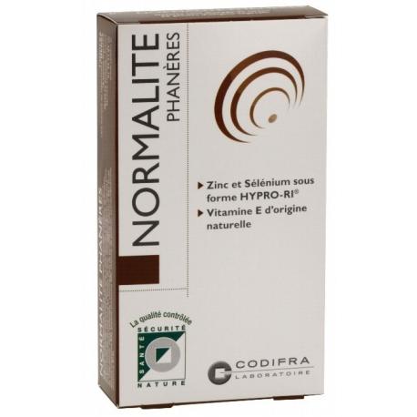 Codifra Normalité Phanères - Cheveux & ongles 60 Gélules