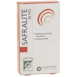 Codifra Safralité 30mg - Humeur 28 Gélules
